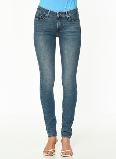 Levi's® Bayan Jean Pantolon 711 Skinny 18881-0411 Mavi